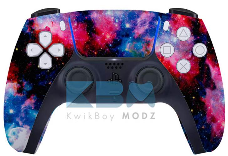 Custom Galaxy PS5 Controller