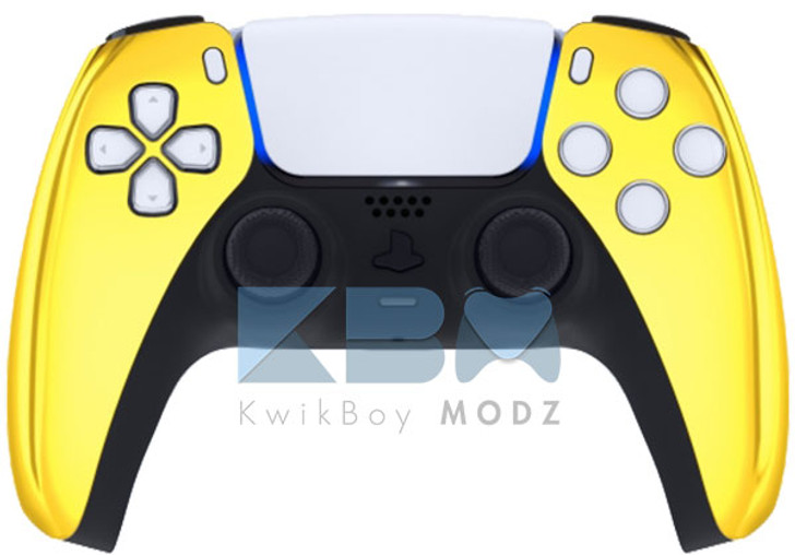 Custom Gold Chrome PS5 Controller