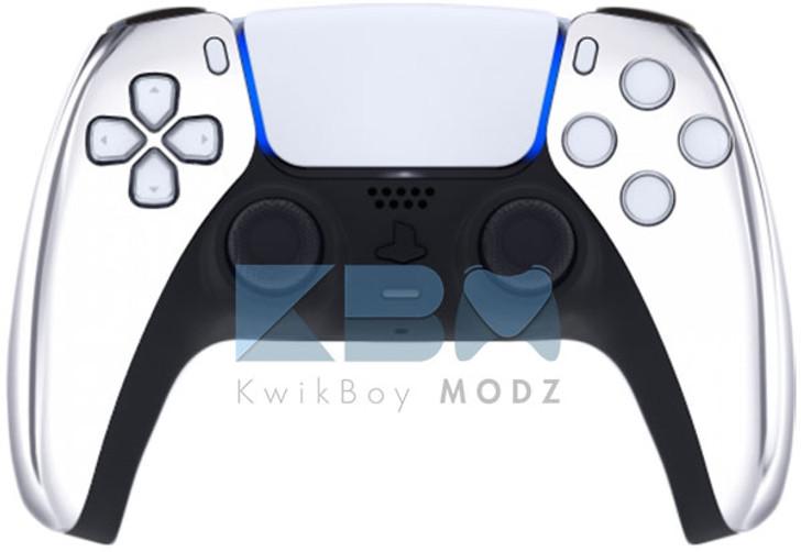 Custom Chrome PS5 Controller