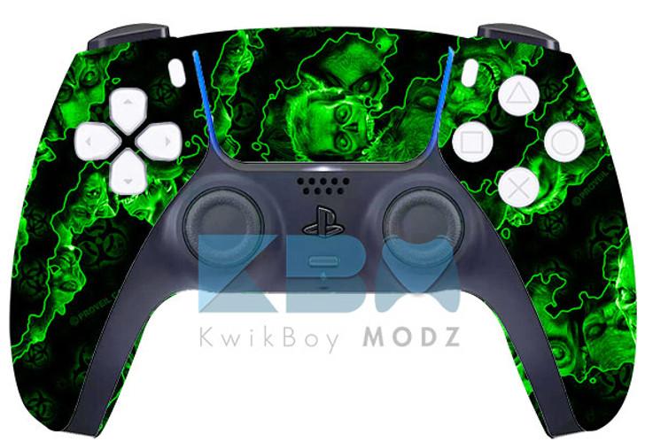 Custom Green Apocalypse PS5 Controller