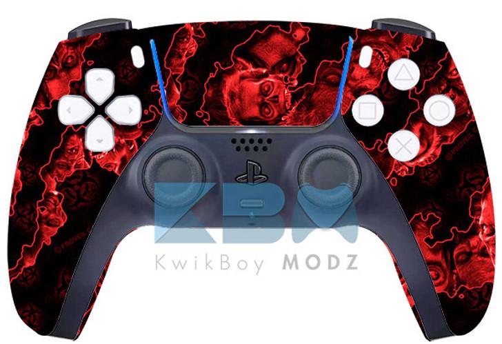 Custom Red Apocalypse PS5 Controller