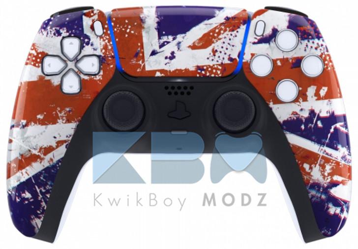 Custom UK Flag PS5 Controller