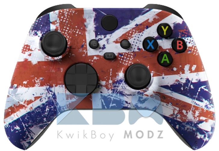Microsoft UK Flag Custom Xbox Series X/S Controller