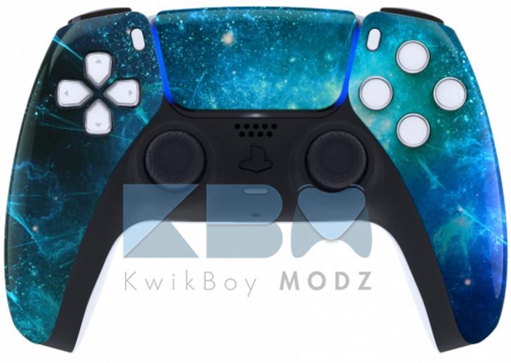 Custom Blue Nebula PS5 Controller