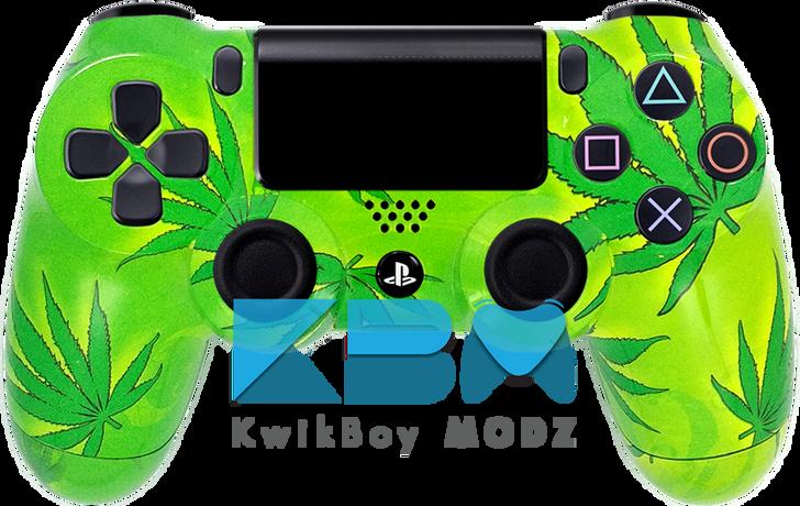 Custom Friendly 420 PS4 Controller