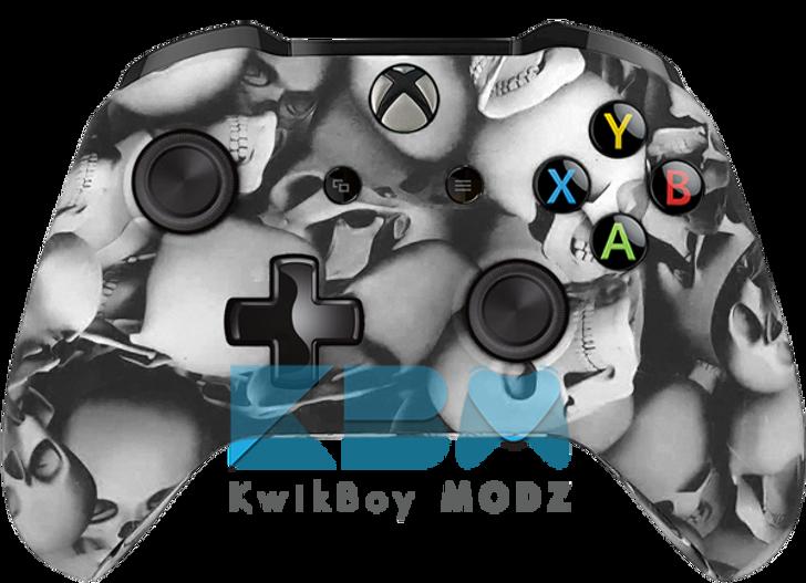 Custom Skull Pile Xbox One S Controller