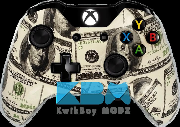 Custom Money Xbox One Controller