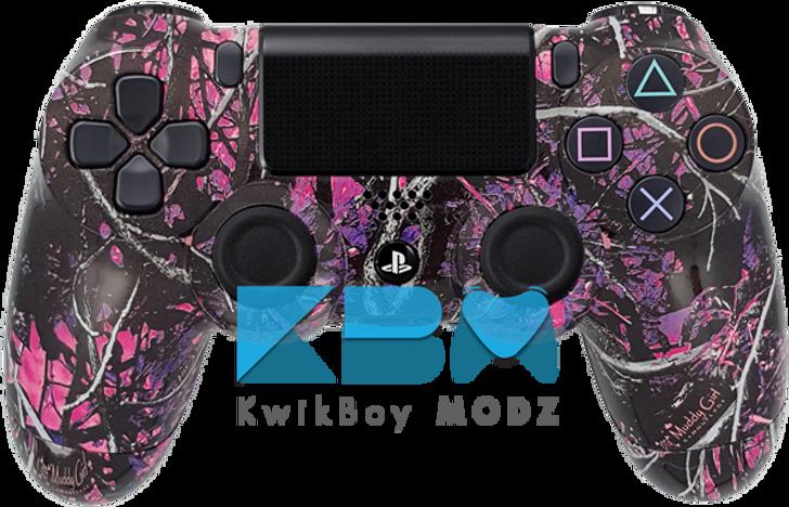 Custom Muddy Girl Camo Ps4 Controller