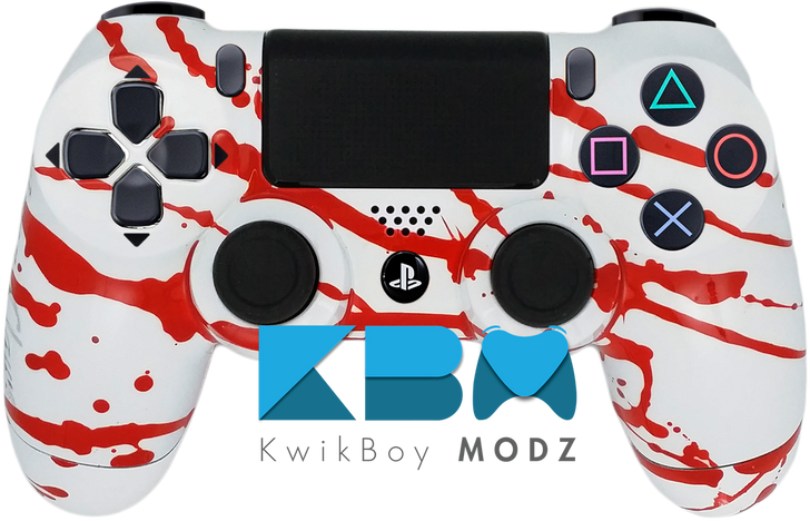 Blood Splatter Custom PS4 Controller