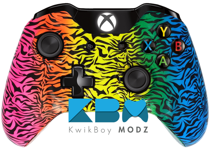 Custom Spectrum Camo Xbox One Controller