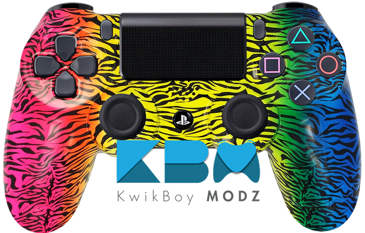 Spectrum Camo Custom PS4 Controller