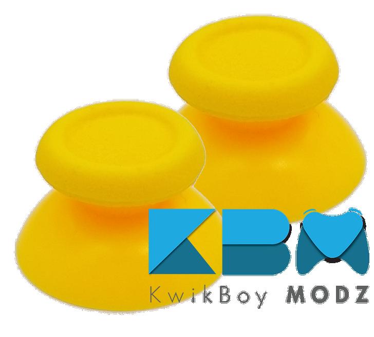 Yellow PS4 Thumbsticks