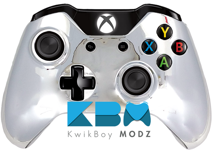 Chrome Xbox One Controller