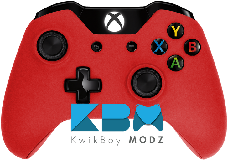 Matte Red Xbox One Controller