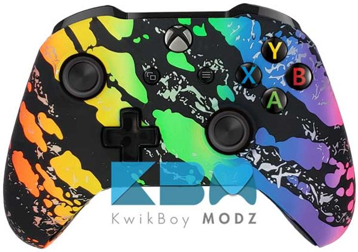 Rainbow Custom Xbox one Controller