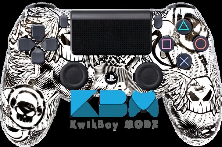 Custom No Fear PS4 Controller