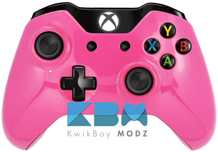 Custom Pink Xbox One Controller