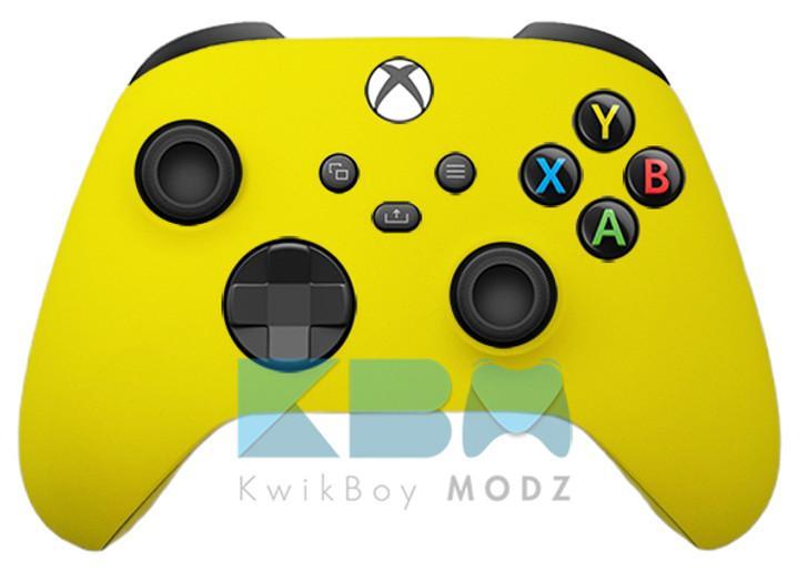 Microsoft Custom Yellow Xbox Series X Controller