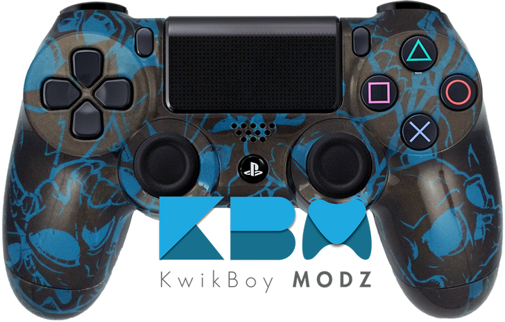 Hollow Skulls Custom PS4 Controller