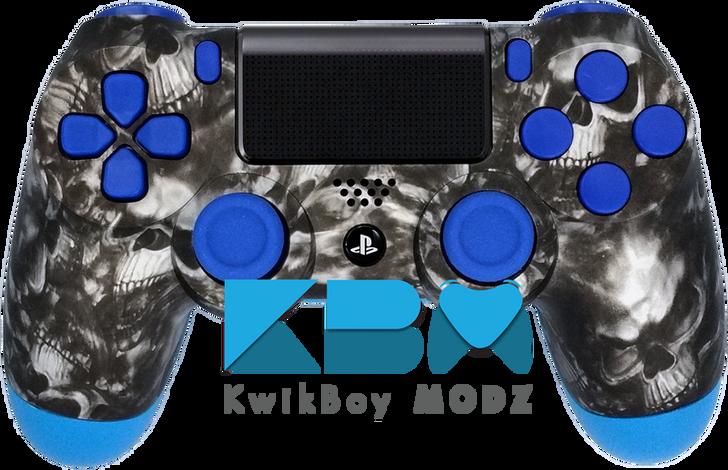 Blue Reaper Custom PS4 Controller