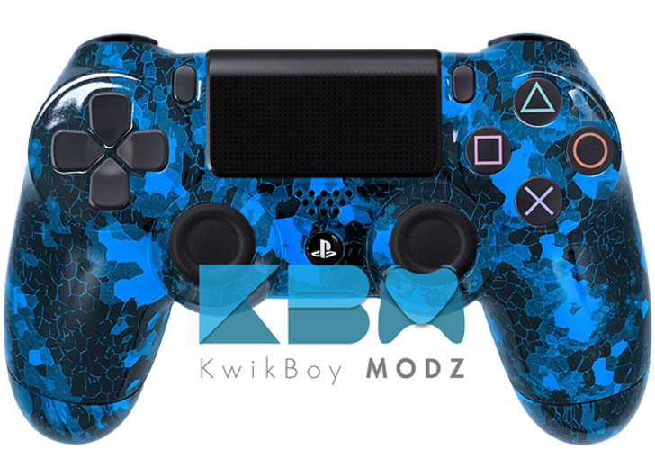 Blue Defected PS4 Controller