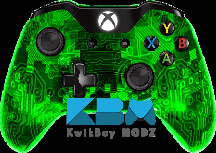 Custom Green Camotech Xbox One Controller