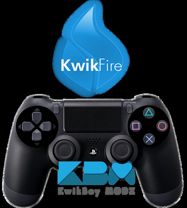 KwikFire Modded PS4 Controller
