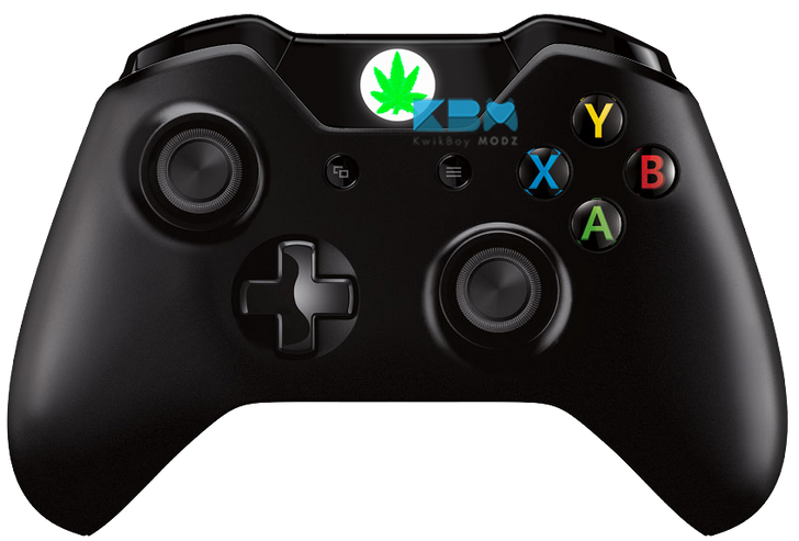Xbox One Pot Leaf Guide Button