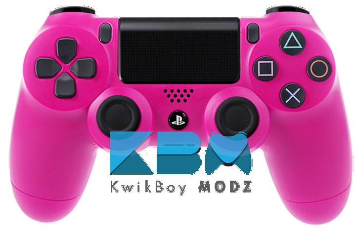 Custom Pink PS4 Controller