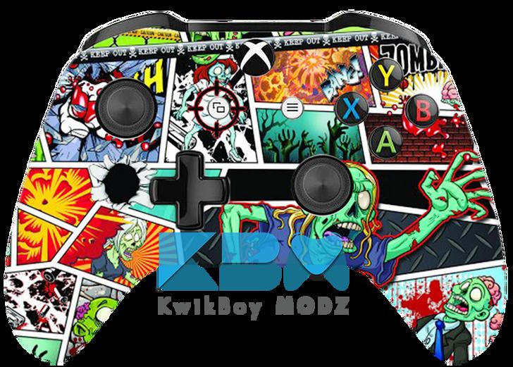 Custom Zombiecom Xbox One Controller
