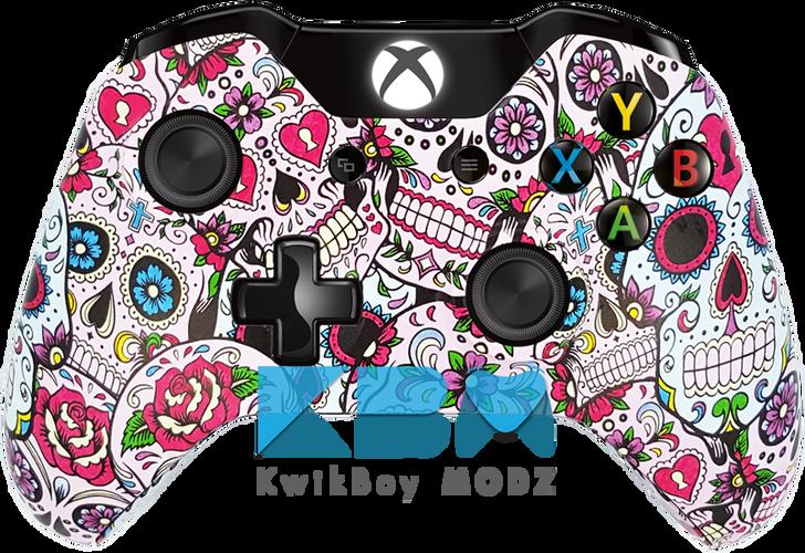 Custom Sugar Skulls Xbox One Controller