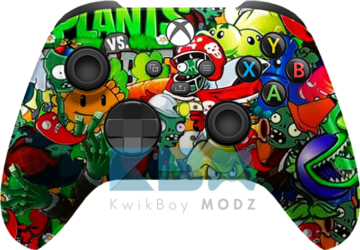 Custom Plants vs Zombies Xbox Series X/S Controller
