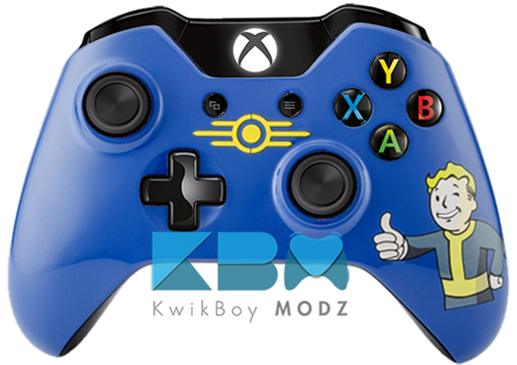 Custom Fallout Vault Boy Xbox One Controller