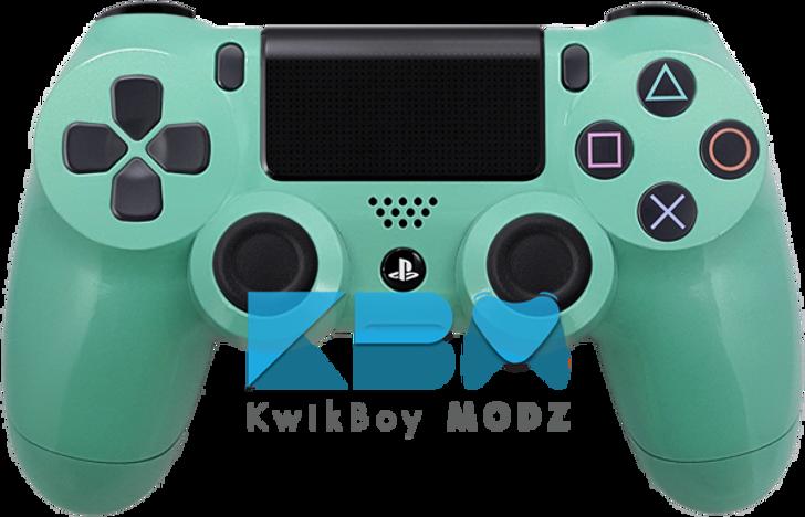 Custom Tiffany Blue PS4 Controller
