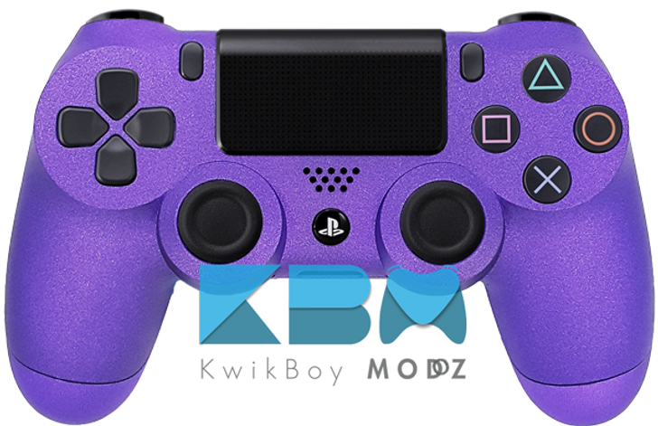Metallic Purple Custom PS4 Controller