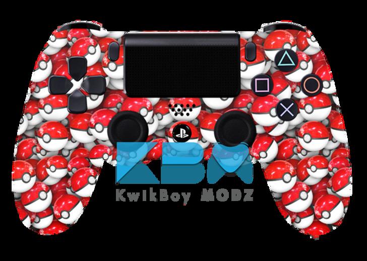 Custom Pokéball PS4 Controller