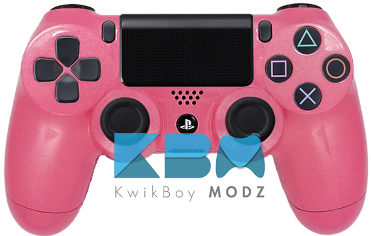 Metallic Pink PS4 Controller
