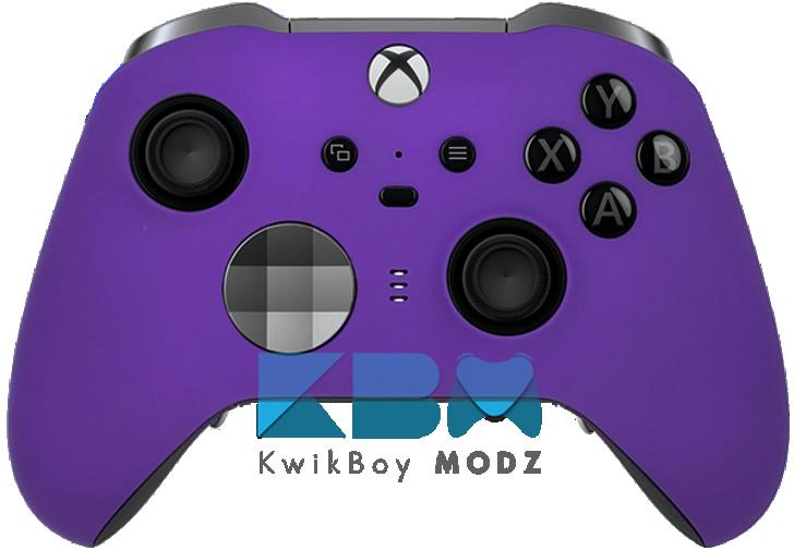 Custom Purple Elite Series 2 Controller