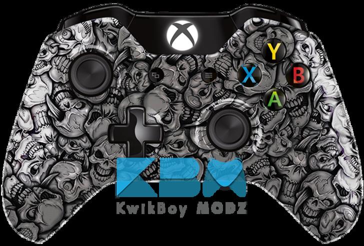 Custom Insanity Skulls Xbox One Controller