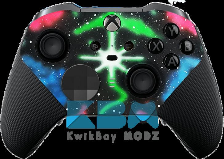Galaxy Nebula Xbox One Elite Controller Series 2
