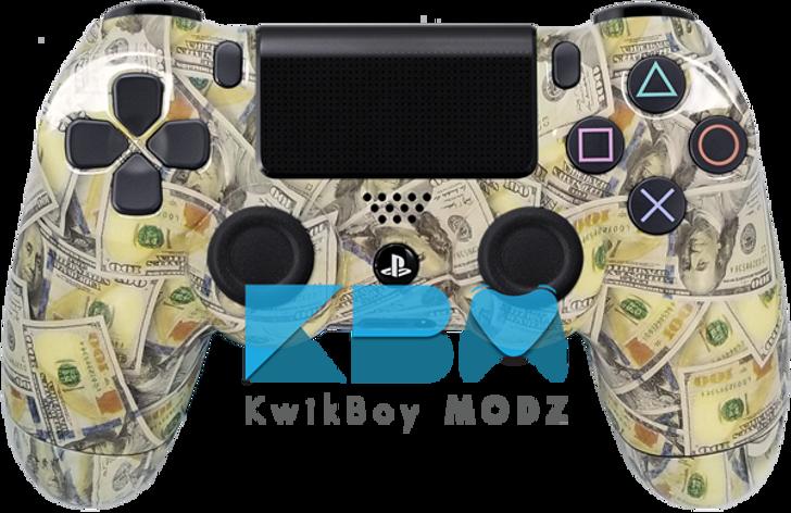 Custom Money PS4 Controller
