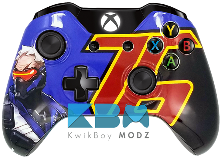 Soldier 76 Xbox One Controller