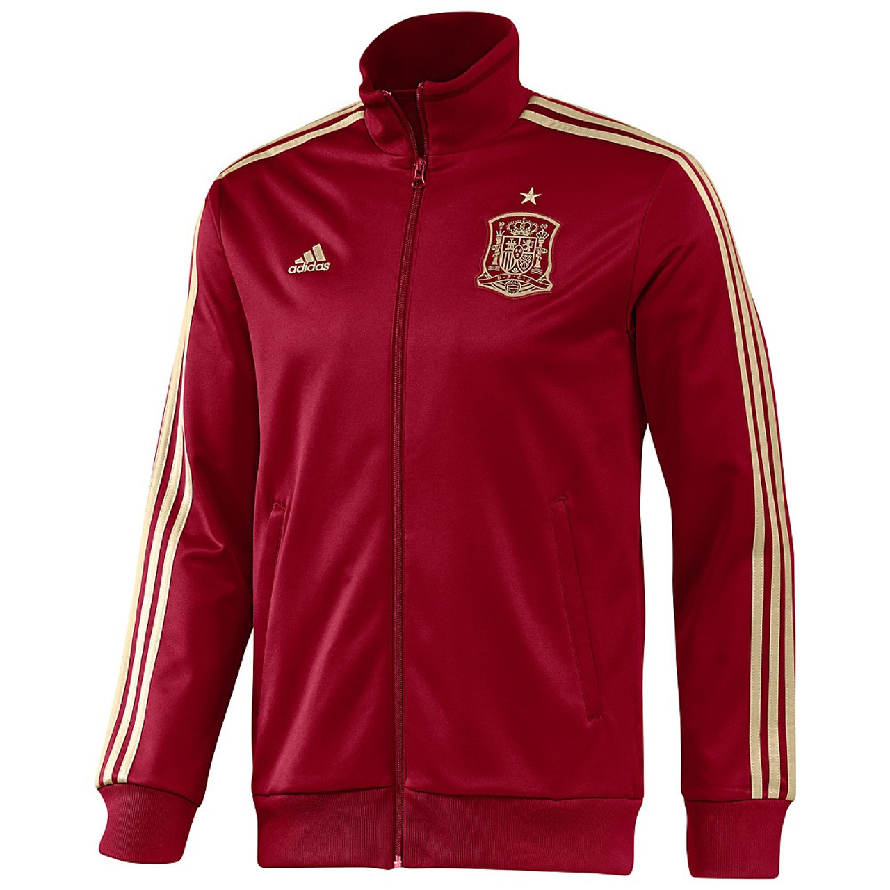 a7a647113 adidas Spain Track Jacket - Red Gold (1917) - ohp soccer