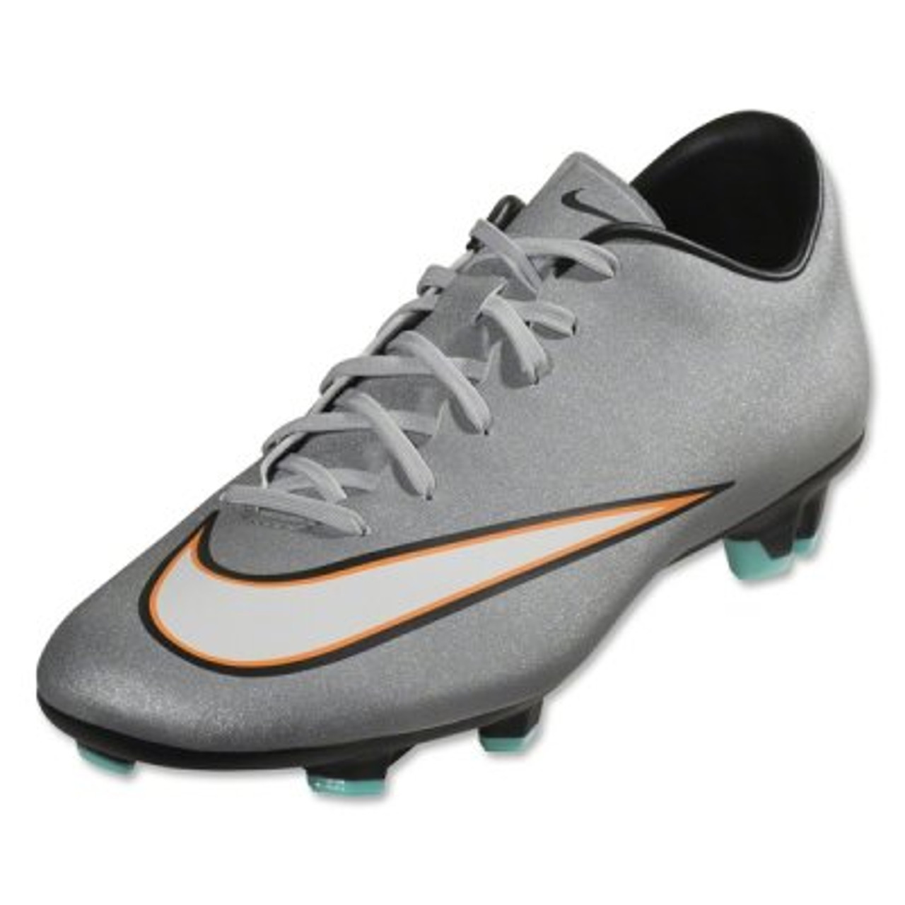 brand new d7c25 6e7c1 Nike Mercurial Victory V CR7 FG - Silver Turquoise - ohp soccer