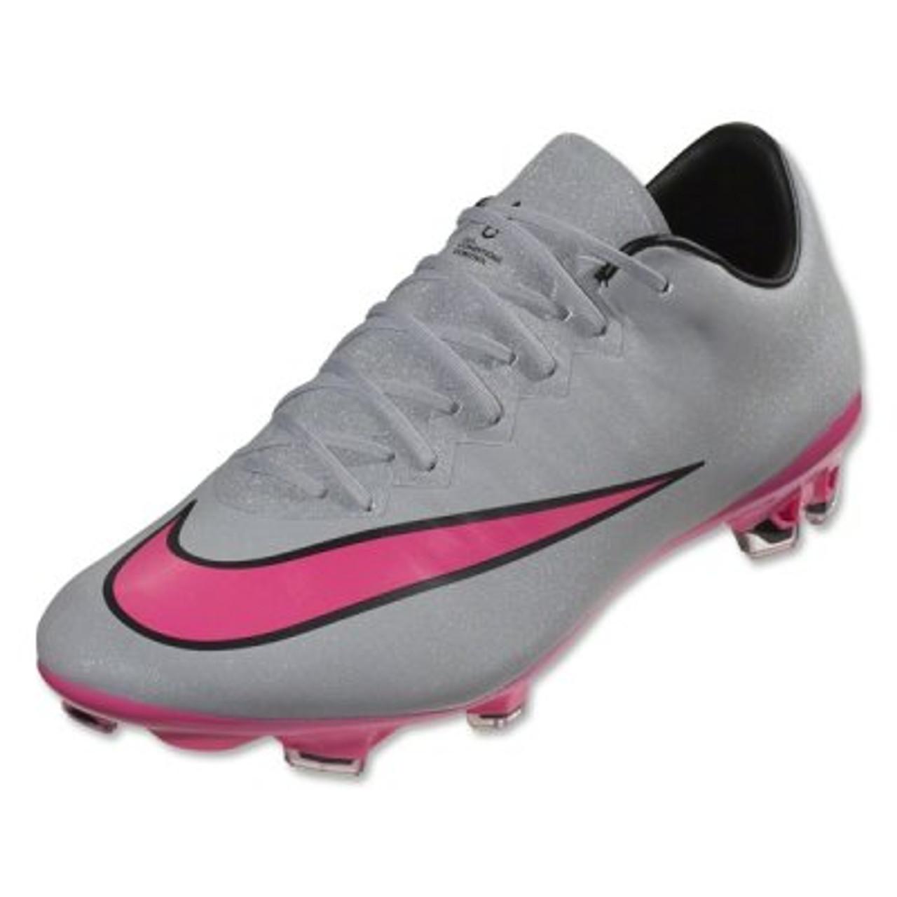 3bd049767 ... Nike Mercurial Vapor X FG - Wolf Grey/Black/Hyper Pink RC (042719. Sale