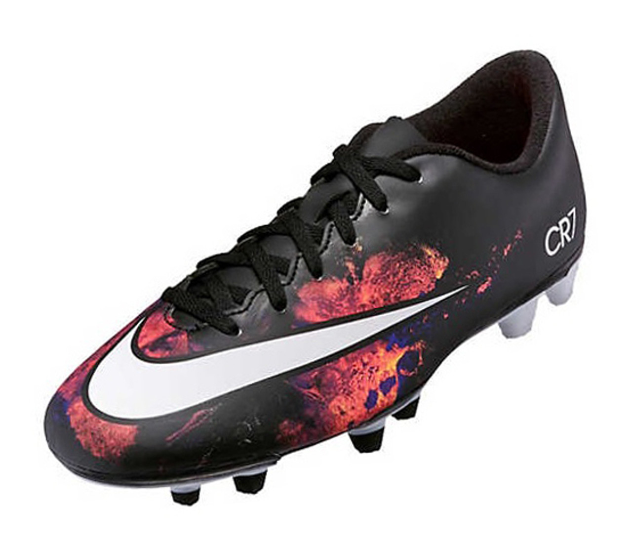 ff1fbc8ddc Nike Mercurial Vortex II CR FG - Black White Total Crimson Vivid Purple
