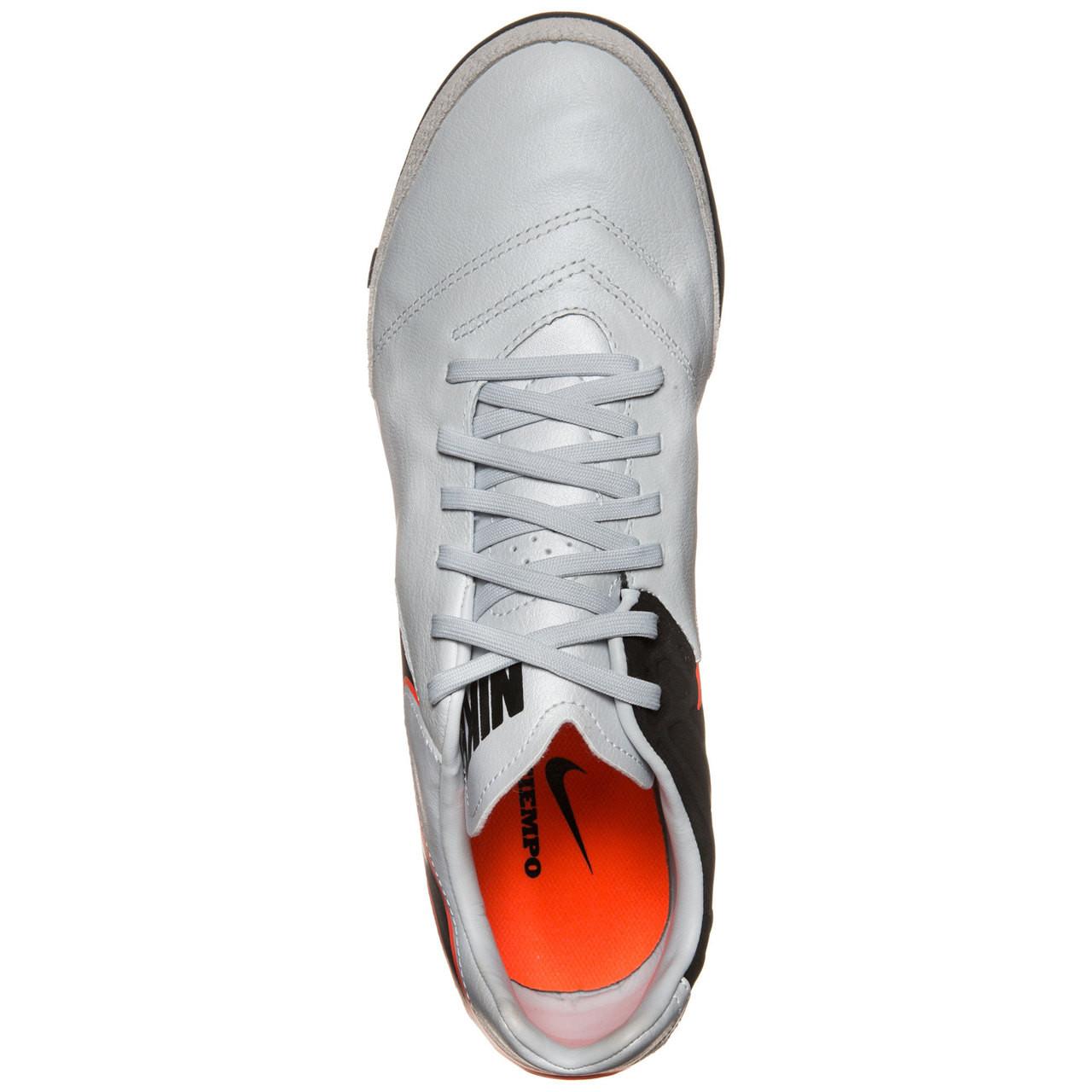 pretty nice fdf8d f998f Nike Tiempo Mystic V TF - Pure PlatinumBlackMetallic SilverH