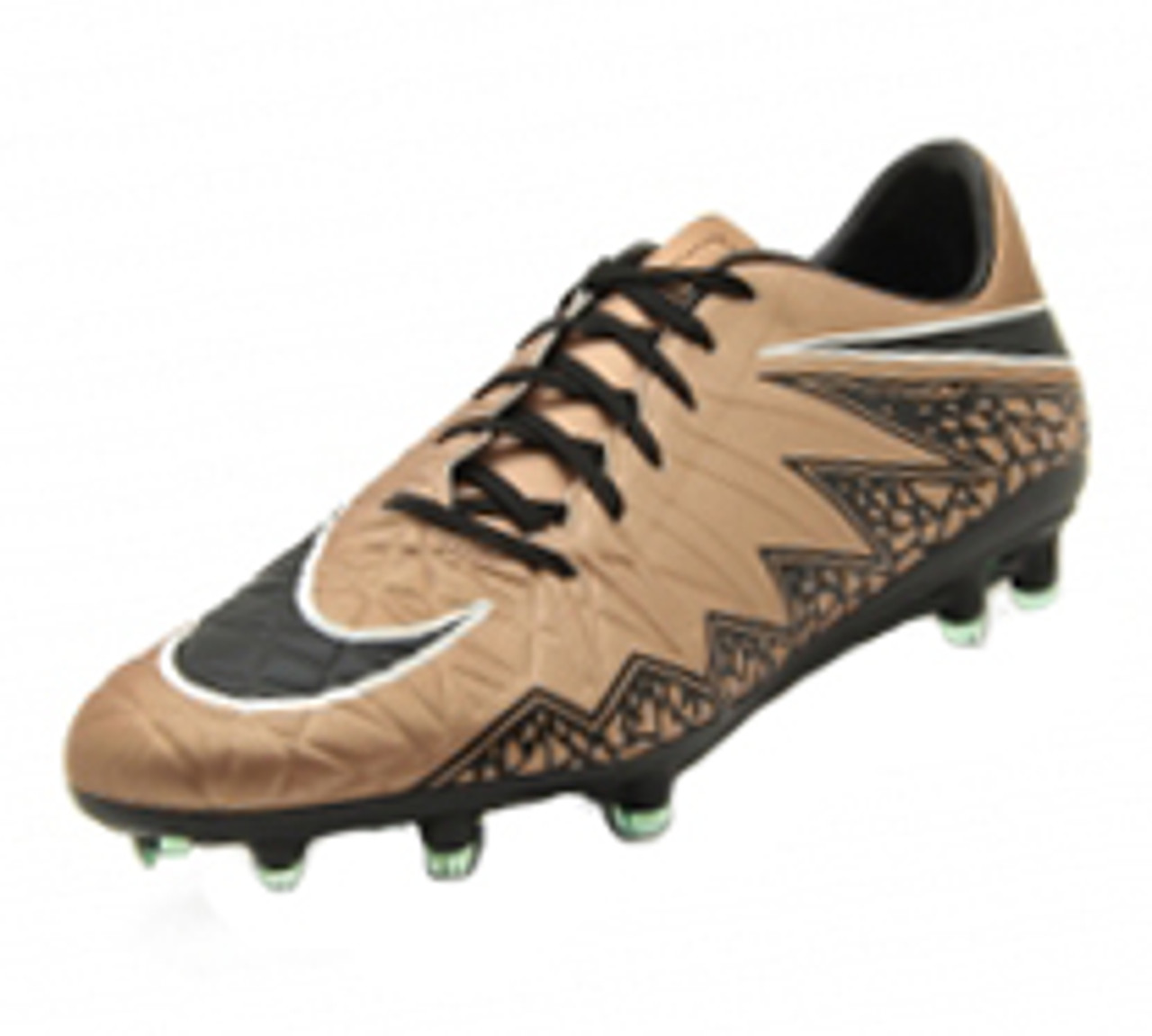 the latest dc043 162ed Nike Hypervenom Phatal II FG - Metallic Red Brown/Black/Green/Glow White  (053019)