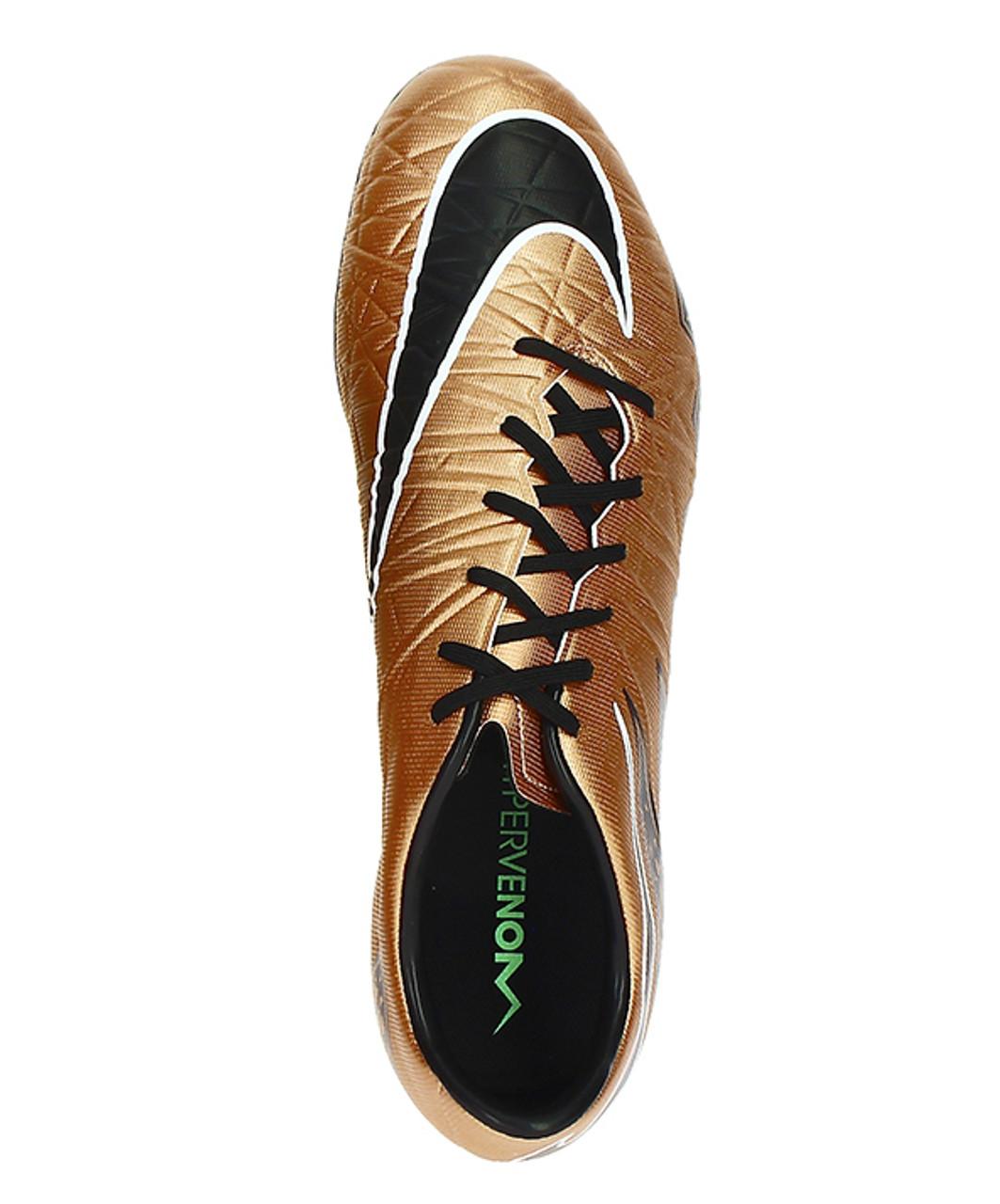 4e279d479b5 Nike Hypervenom Phatal II FG - Metallic Red Brown Black Green Glow ...