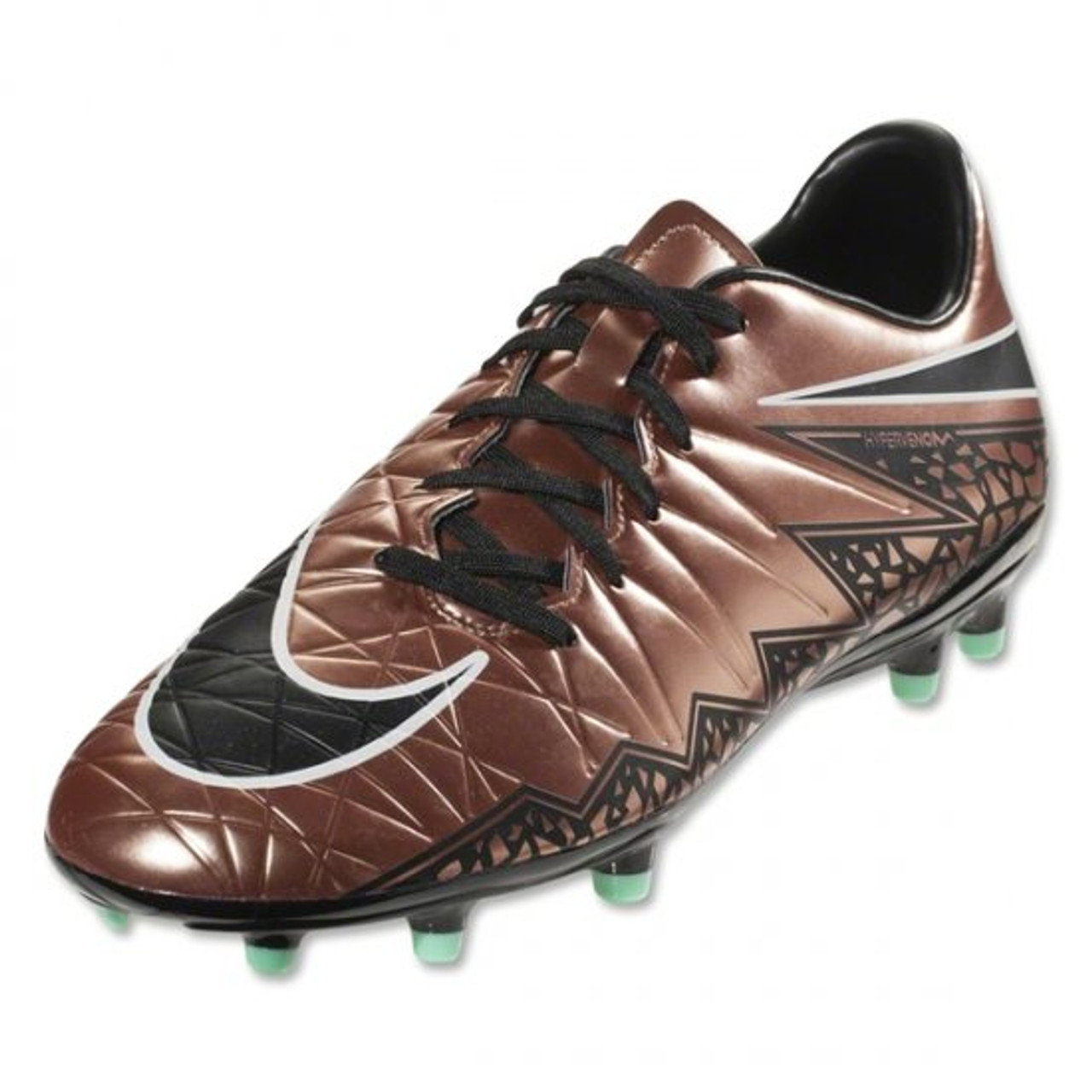 new products 67e3c c4d66 Nike Hypervenom Phelon II FG - Metallic Red Brown Green Black Glow White  (11319) SD - ohp soccer
